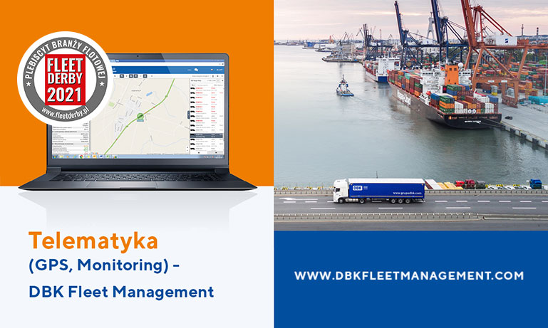 DBK Fleet management nominowana do Fleet Derby 2021